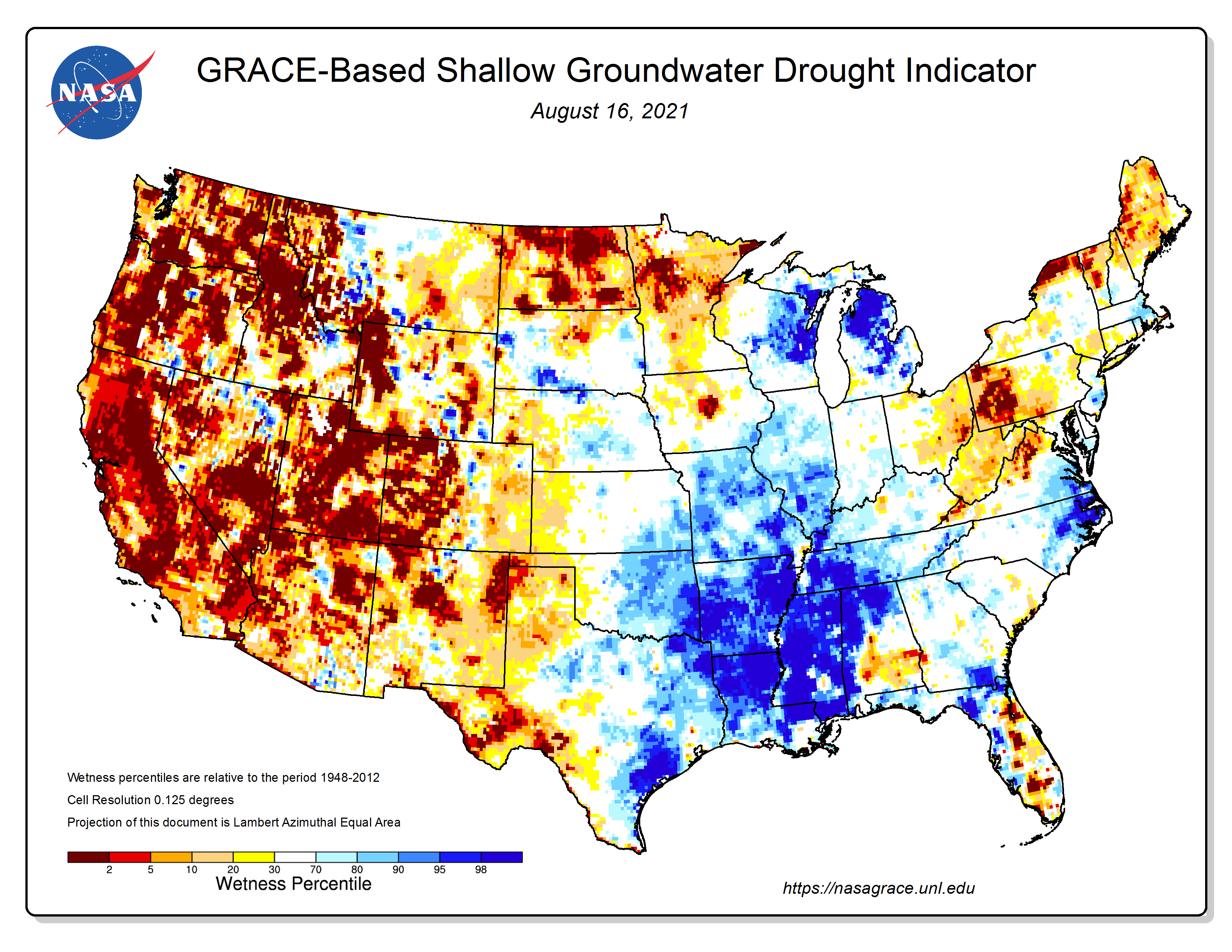 Groundwater Percentile